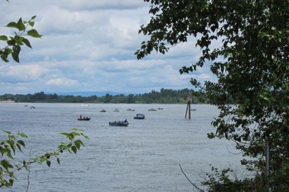 Fishing on the Columbia